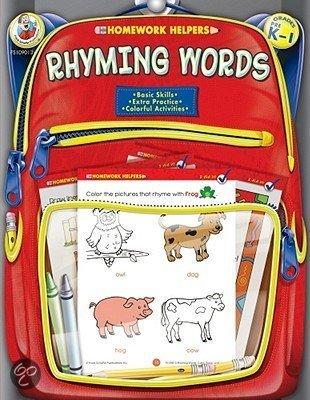 homework rhyming words