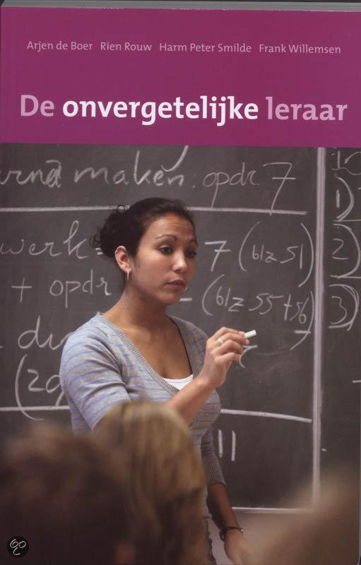 De Onvergetelijke Leraar  ISBN:  9789066659612  –