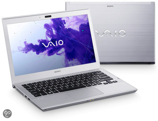 Sony Vaio SVT1311W1ES Laptop - Intel i5-3317U 1.7 GHz / 4GB DDR3 RAM / 128GB SSD / 13.3 inch / QWERTY