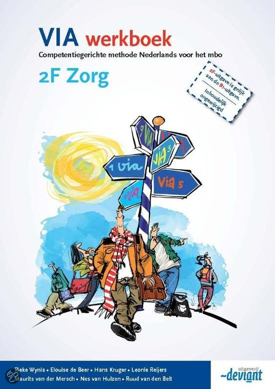 VIA  / 2F zorg / deel werkboek