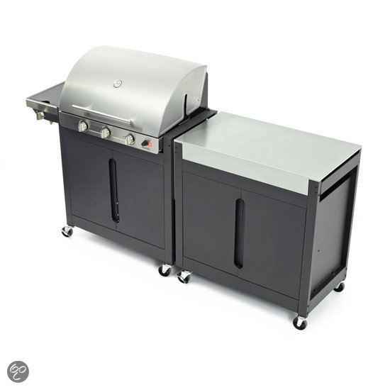 barbecook brahma 4 2 gasbarbecue inox koken en tafelen. Black Bedroom Furniture Sets. Home Design Ideas