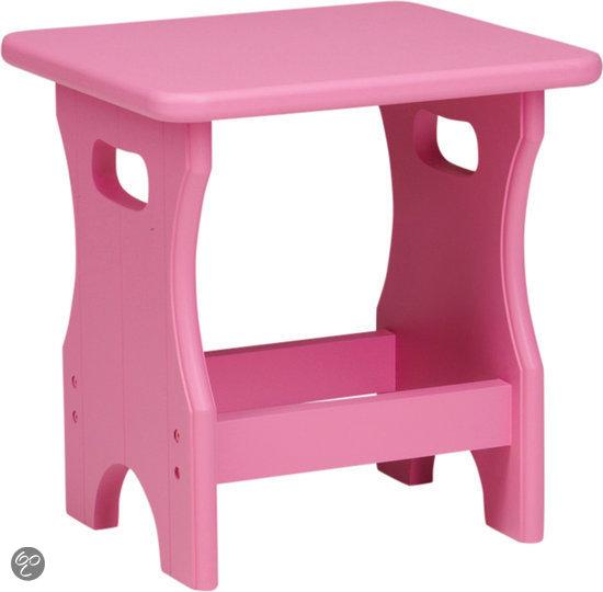 Lief krukje roze wonen - Tafel roze kind ...