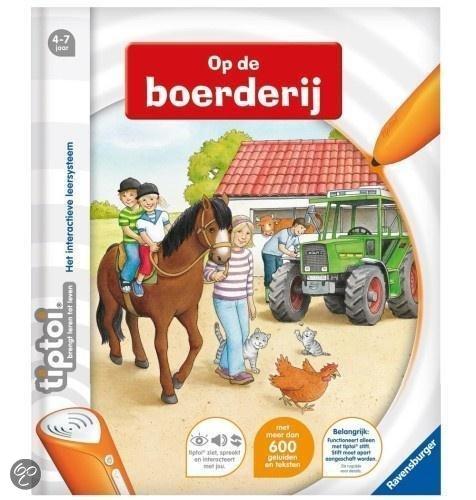 Ravensburger Tiptoi - Op de Boerderij