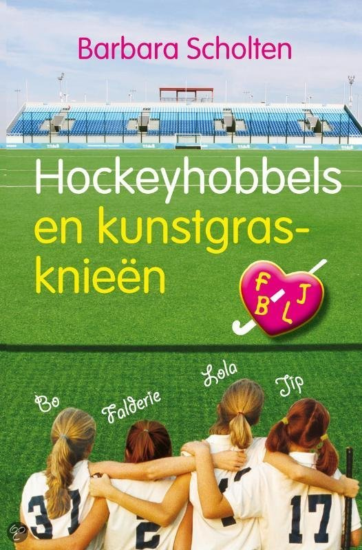 Hockeyhobbels en kunstgrasknieen