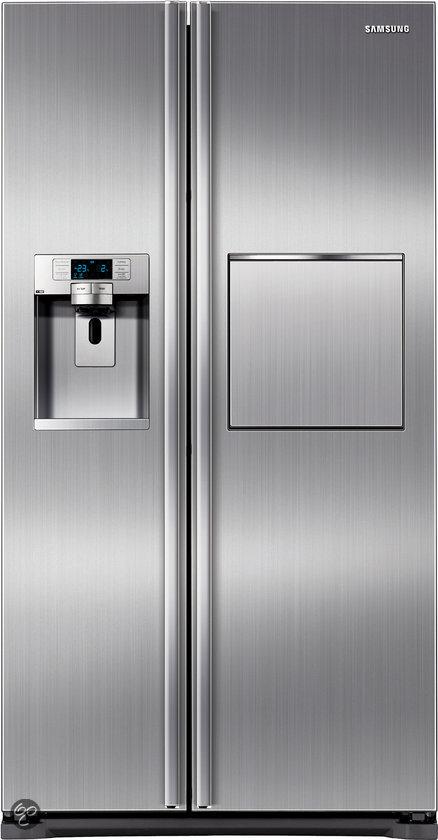 Amerikaanse Koelkasten Aanbieding kopen A koelkast amerikaans side by side dubbeldeurs  Samsung