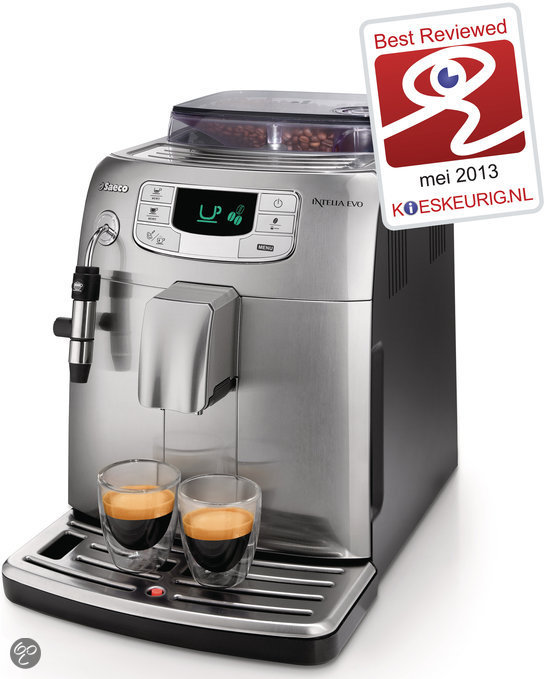 Saeco Intelia HD8752/85 Volautomaat Espressomachine - Metal