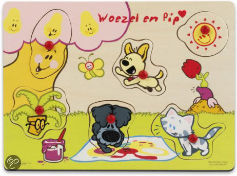 Woezel En Pip Puzzelbord