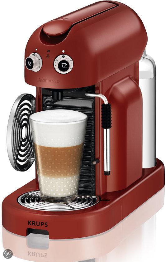 Krups Nespresso Apparaat Maestria XN8006 - Rosso