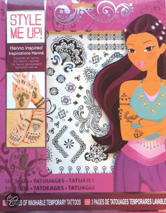 Style Me Up Tattoo Henna