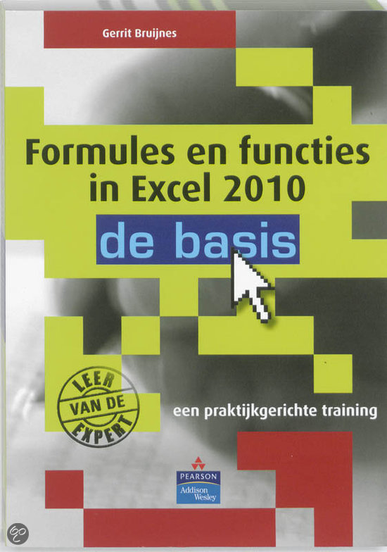 Formules en functies in Excel 2010