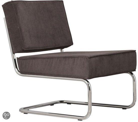 Zuiver ridge rib fauteuil grijs wonen - Lounge grijs ...