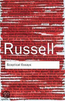 Sceptical Essays<br>Bertrand Russell