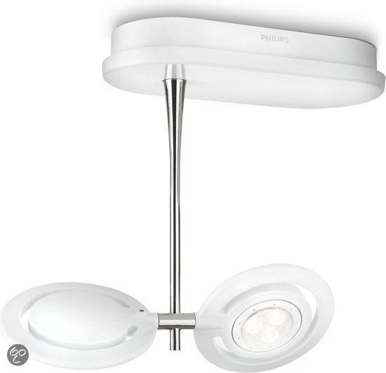 ...  Philips Ledino Vaganza Plafondspots (2-lichts) - LED - Wit  Wonen