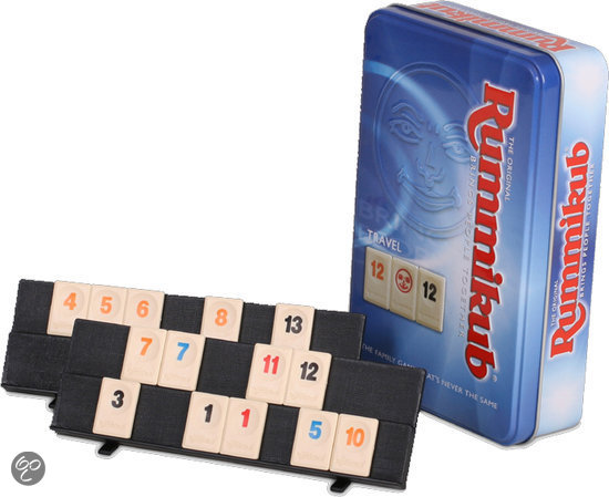 Rummikub Travel Tour Edition (Tin numbers)