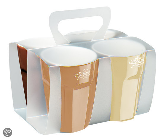 ASA Selection Classic Packs - Cappuccinokopjes - 4 Stuks
