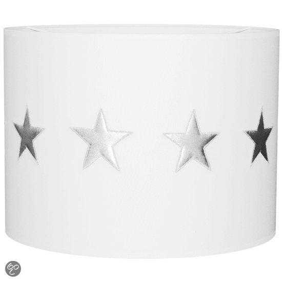 bol.com  Taftan - Hanglamp - zilveren Sterren wit  Wonen