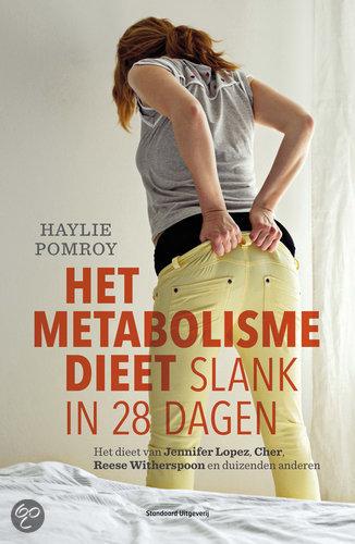 het metabolisme dieet slank in 28 dagen