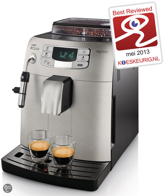 Saeco Intelia HD8752/83 Volautomaat Espressomachine - Metal