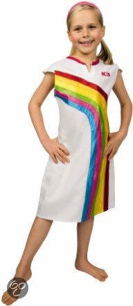 K3 Regenboog Jurkje - Carnavalskleding - 3-6 jaar