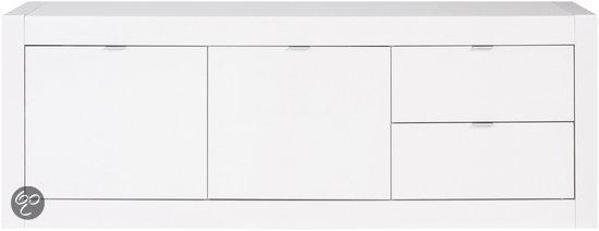 bol com   Goossens Tv meubel Zen, tv dressoir 2 deuren 2 laden 45 cm diep 160 cm