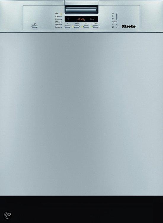 Miele Vaatwasser G5400 SCU CleanSteel