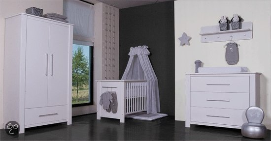 bol.com : Bebies First Nick Complete Babykamer - Wit : Baby