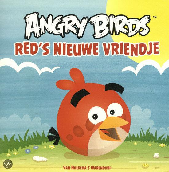 Angry Birds Red's nieuwe vrienden
