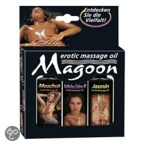 Massage olie warm maken