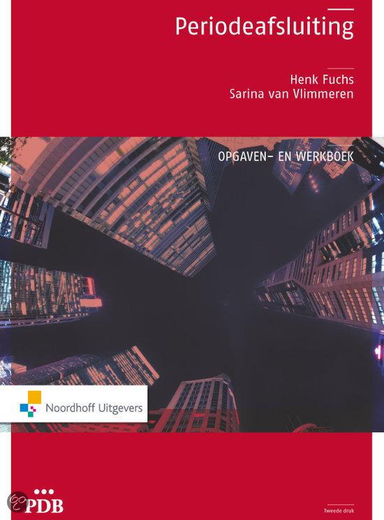 PDB Periodeafsluiting opgaven/werkboek