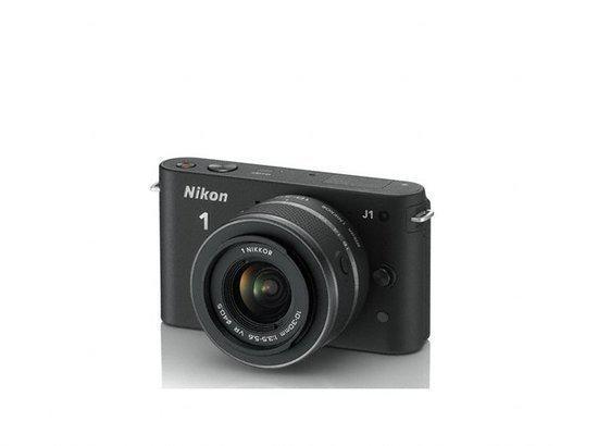 Nikon 1 J1 + 1 NIKKOR VR 10-30mm + 10mm - Systeemcamera - Zwart