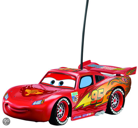 Cars Mcqueen Rc Auto 17 Cm Rood Dickie Toys