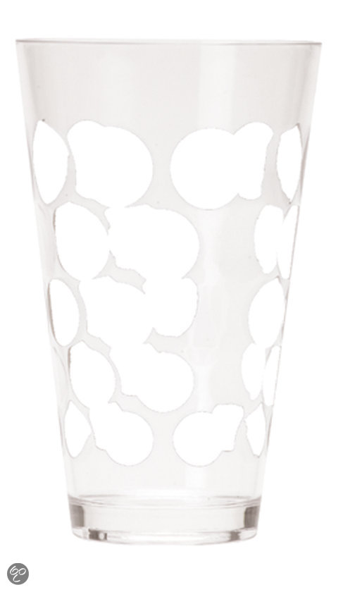 Zak! Designs Dot Dot - Drinkbeker 20 cl - Wit