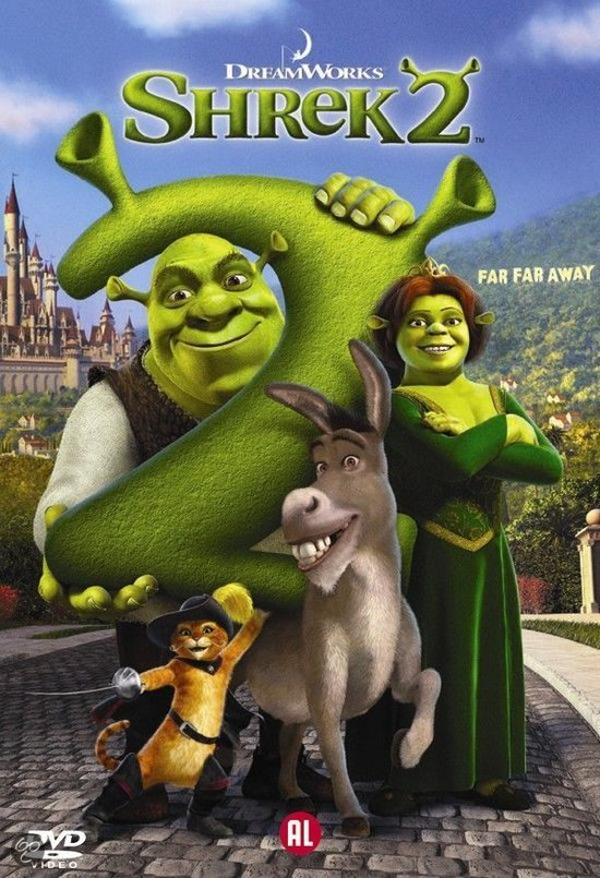 Shrek 2 2004 Dvd