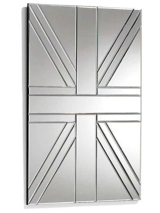Laforma medina spiegel glas 90x60 cm zilver for Spiegel 90x60