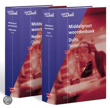 Van Dale Middelgroot woordenboek Duits (set) in Baarle-Hertog