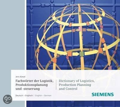 Dictionary Of Logistics And Supply Chain Management/Fachworterbuch Logistik Und Supply Chain Management