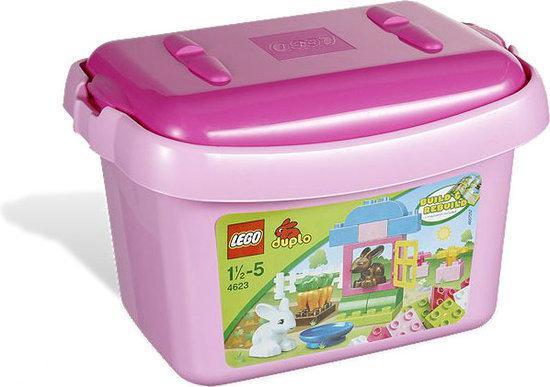 LEGO Duplo Roze Opbergdoos - 4623