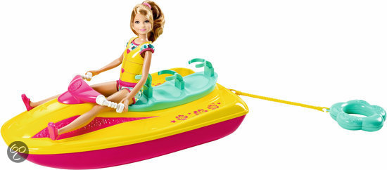 Barbie Zusjes Jet Ski
