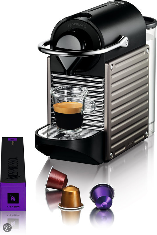krups nespresso apparaat pixie xn3005 electric titan elektronica. Black Bedroom Furniture Sets. Home Design Ideas
