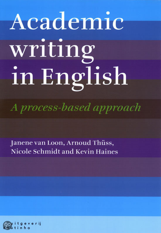 academic writing in english a process-based approach anxiety