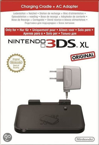 Nintendo 3DS XL Oplaadstation + Ac Power Adapter