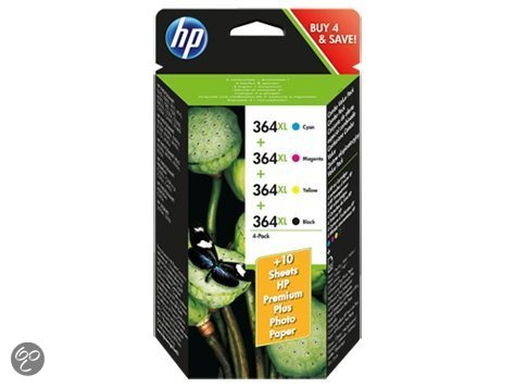 Ink Cartridge No 364 XL 4Pack