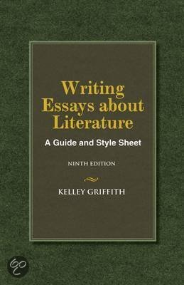 writing essays about literature a guide and style sheet 7th edition