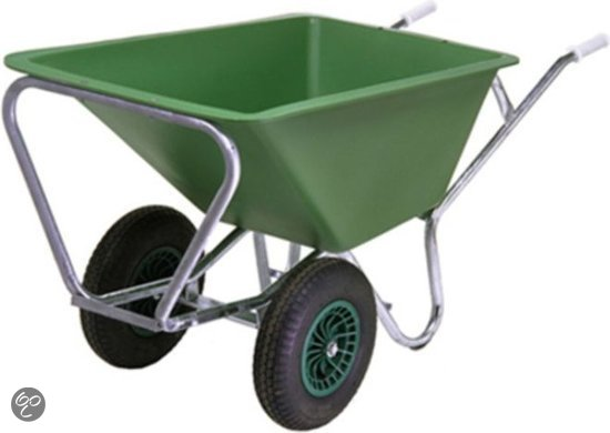 Altrad fort kruiwagen 2 wielen pe 160 2 tuin for Brouette de jardin