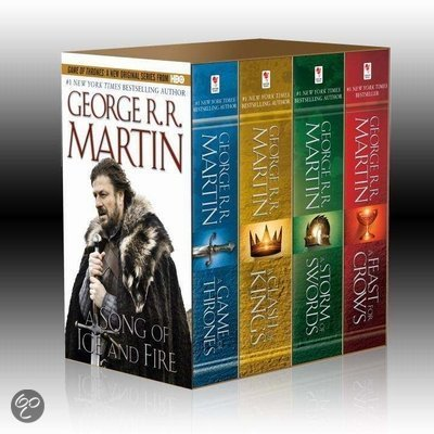 Song Of Ice & Fire 4V-box: A Game Of Thrones, A Clash Of Kings, A Storm Of Swords, And A Feast For Crows