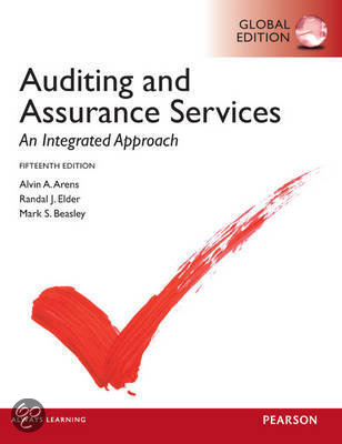 com | Auditing and Assurance Services, Global Edition, Alvin A. Arens ...