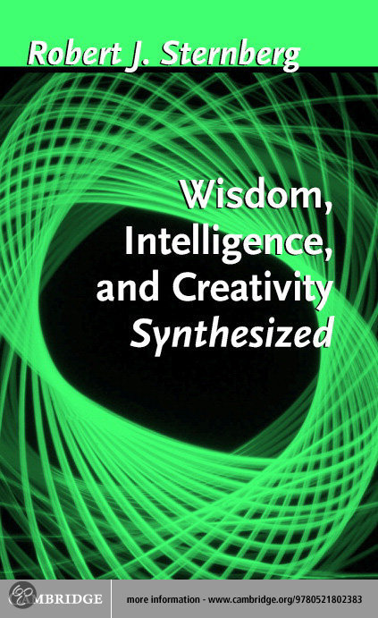 essay on creativity and intelligence Read this essay on creative intelligence come browse our large digital warehouse of free sample essays get the knowledge you need.