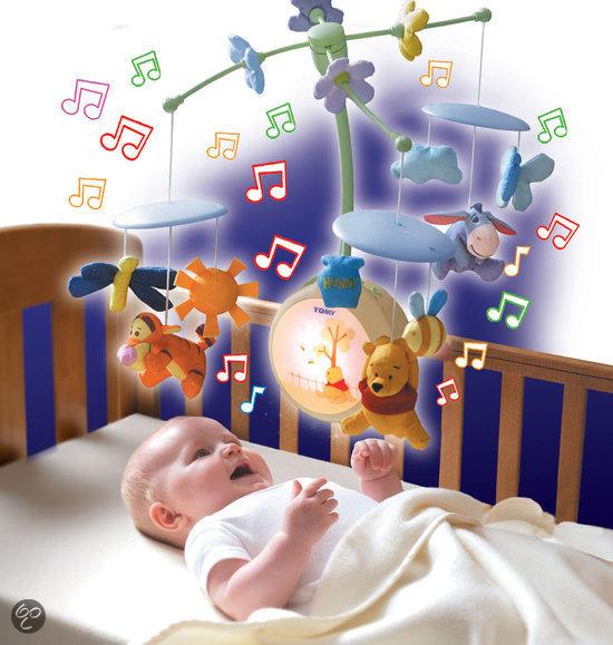 TOMY Winnie de Poeh en Vrienden Draaiende Muziek Mobiel