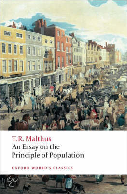 thomas malthuss 1798 work essay on the principle of population greatly influenced darwin
