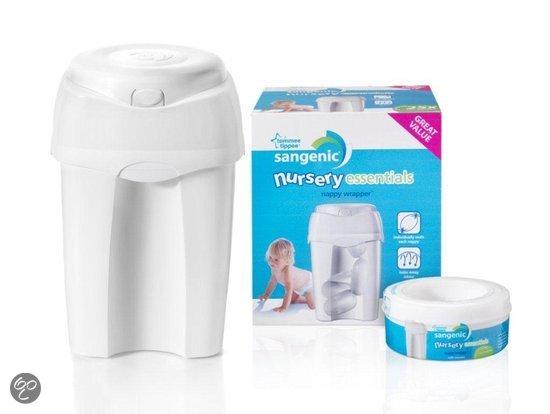 tommee tippee sangenic nursery essentials mk5 luieremmer wit baby. Black Bedroom Furniture Sets. Home Design Ideas